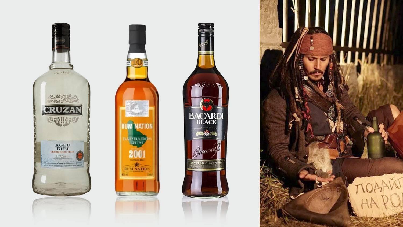 """Как правильно пить ром, популярные сорта рома, сравнение """"бакарди"""" и """"капитана моргана"""""""