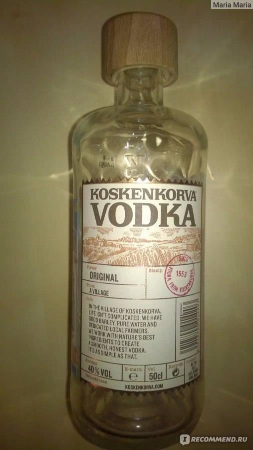 Водка коскенкорва (koskenkorva): описание и история марки ⛳️ алко профи
