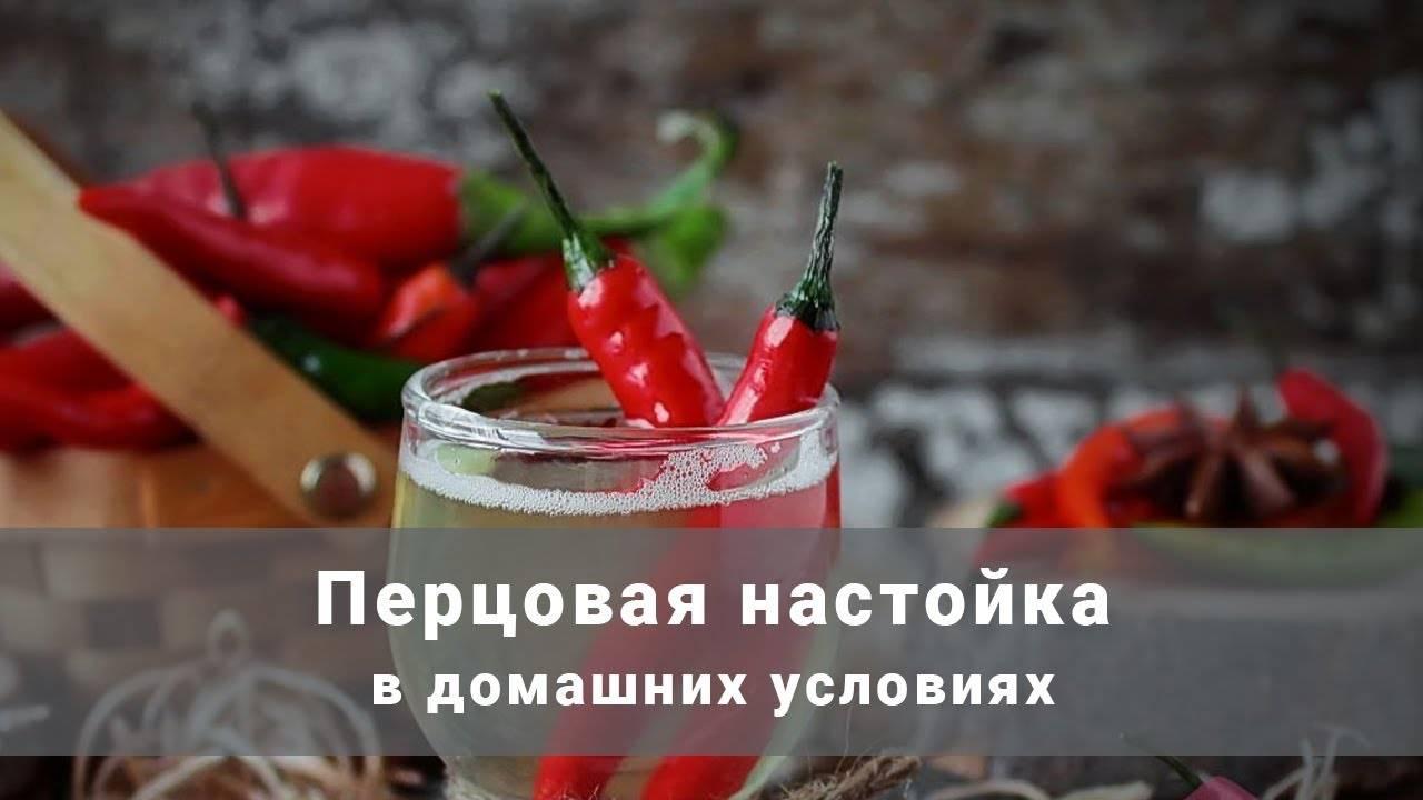Перцовка на самогоне: лучшие рецепты домашнего приготовления