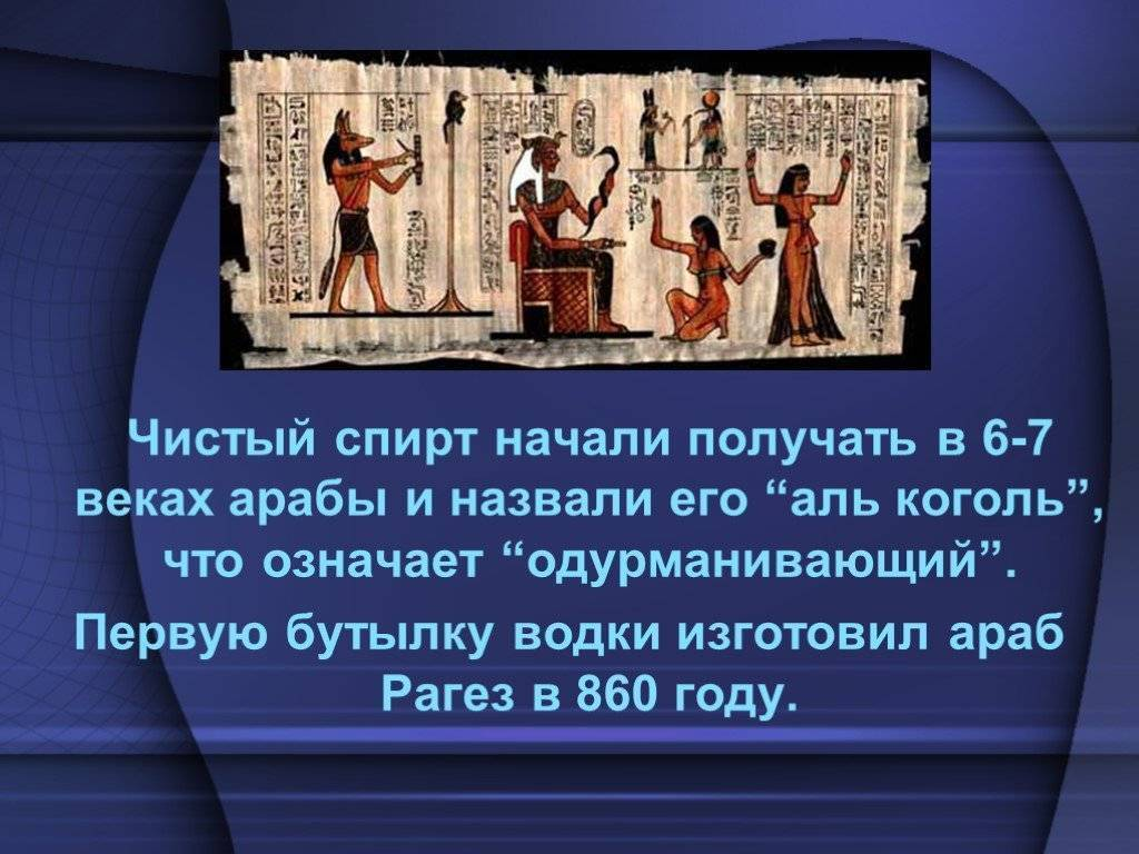 Менделеев придумал водку. экскурс в историю — кто придумал русскую водку