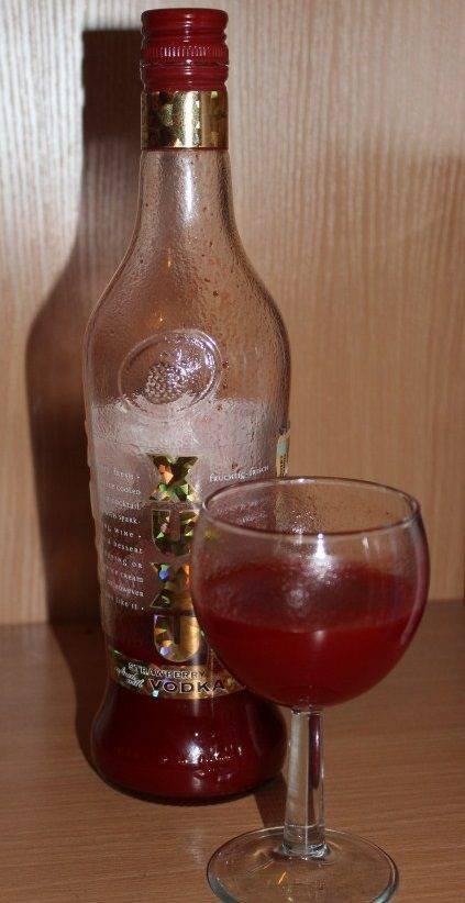 Клубничный ликер ксу ксу xuxu