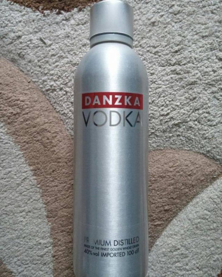 Водка данска (danzka): описание, история и виды марки