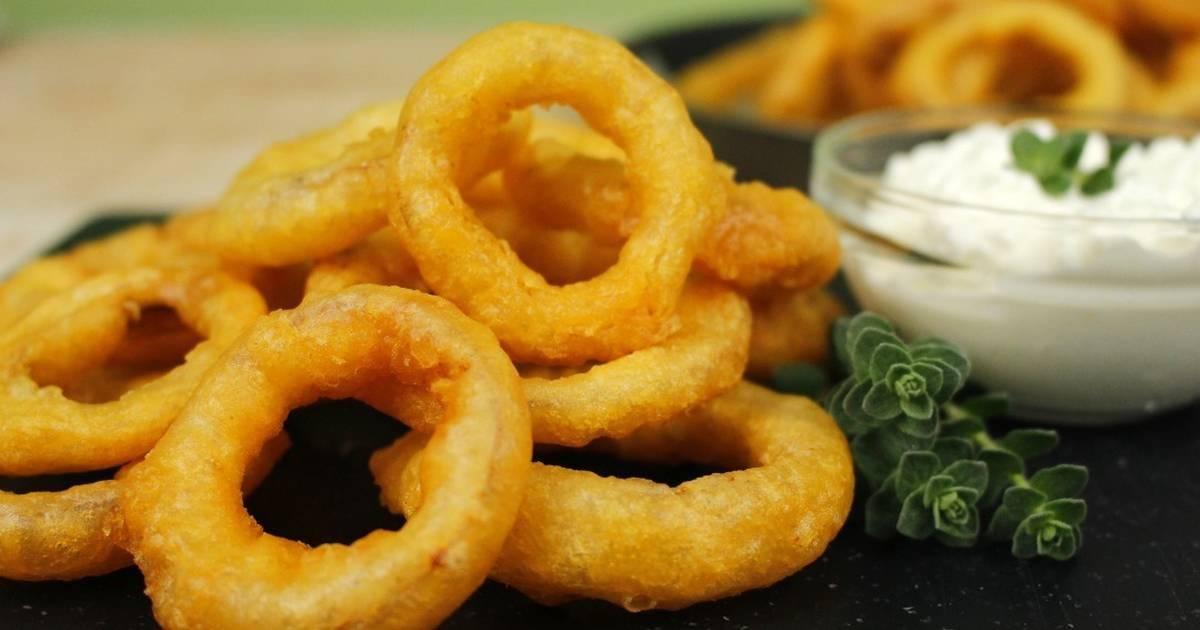 Луковые кольца в кляре — оригинальные и простые рецепты с фото