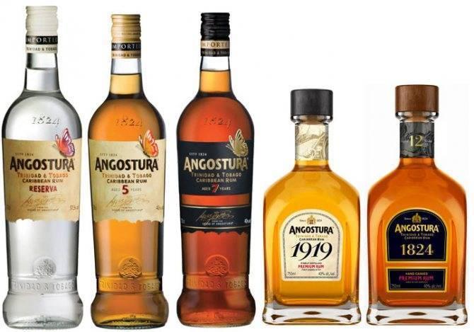 Биттер ангостура (angostura) — особенности венесуэльской настойки