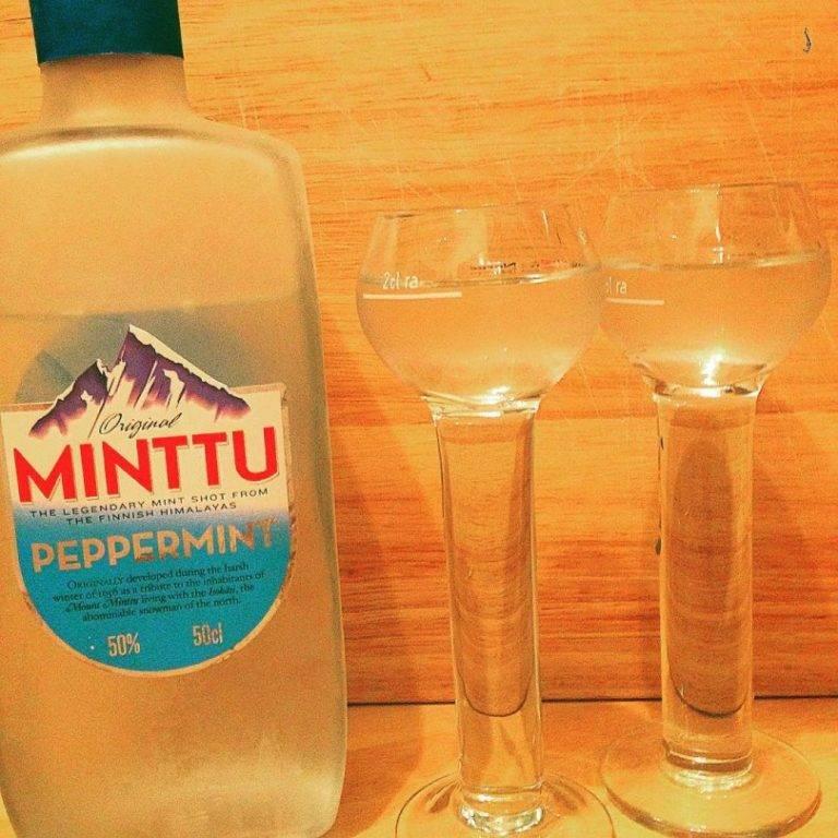 Ликер минту или финская мятная водка