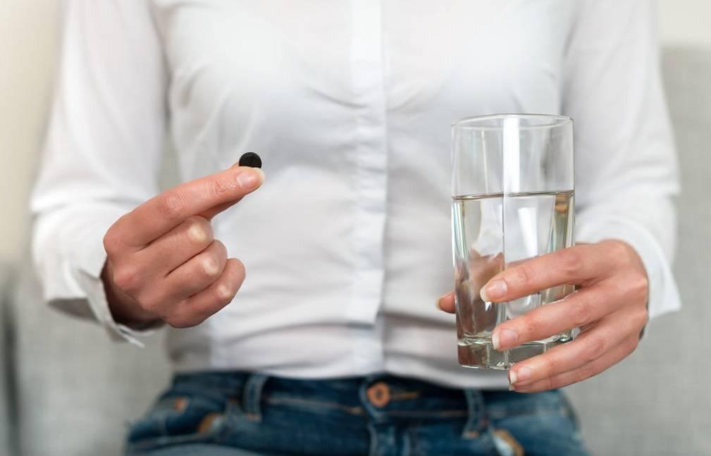 Активированный уголь при алкогольном отравлении