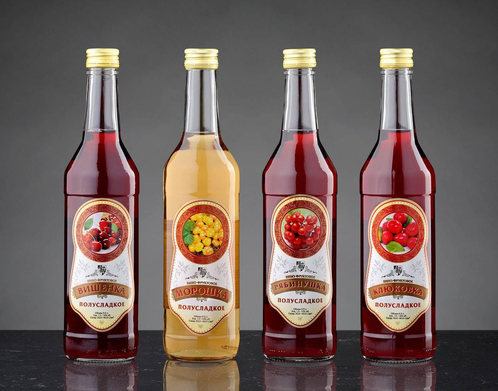 Лучшее сырье для плодово-ягодного вина   напитки мира