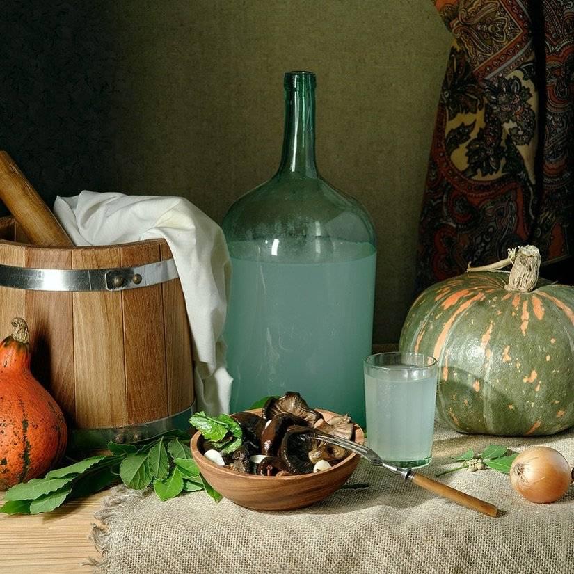 Самогон из тыквы: рецепт приготовления тыквенной браги в домашних условиях