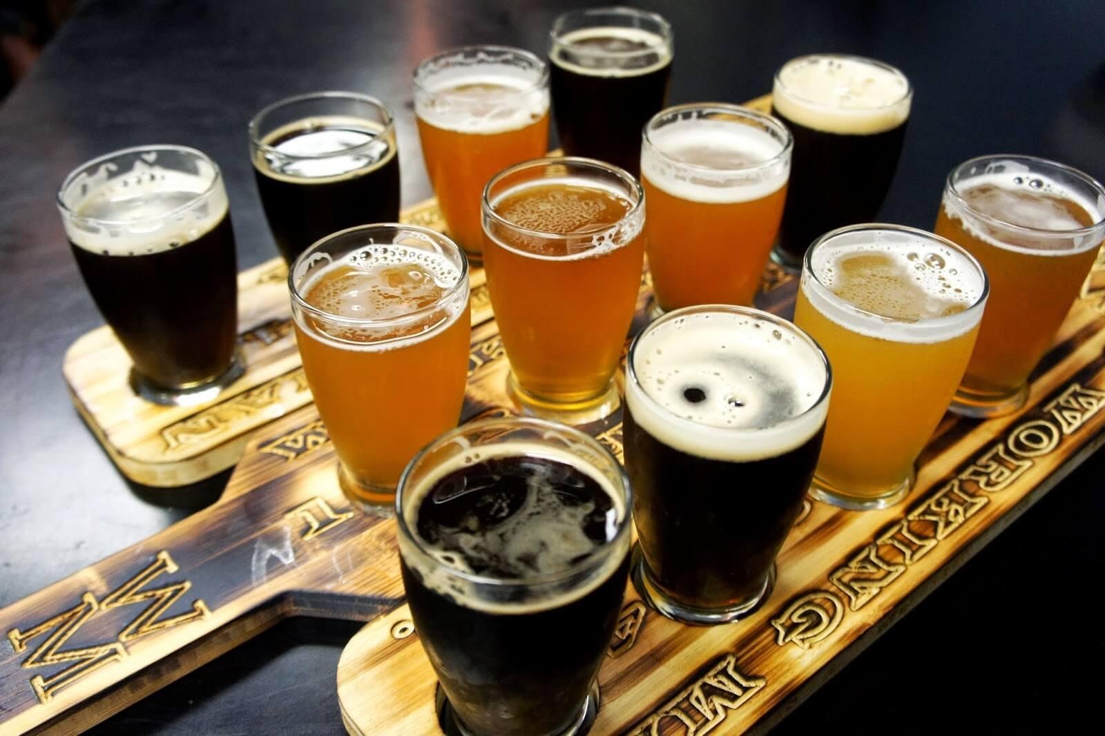 Чем отличается тёмное пиво от светлого ⛳️ алко профи