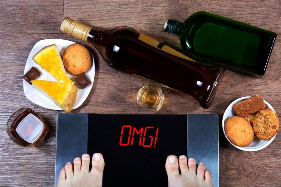 Алкоголь при диете и алкогольная диета