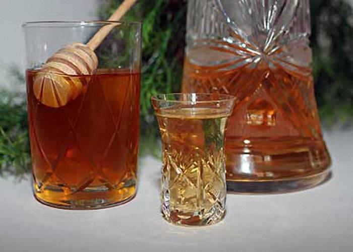 Водка с мёдом рецепт от простуды и кашля