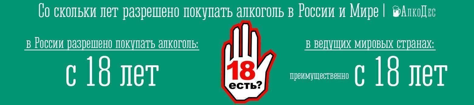 Со скольки лет можно пить алкоголь по закону и физиологическим особенностям? | bezprivychek.ru