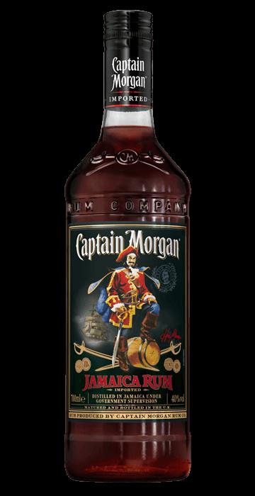 Ром капитан морган, спайсед голд / captain morgan, spiced gold, 2 года, 35%, 0.7л (код: утп001379)