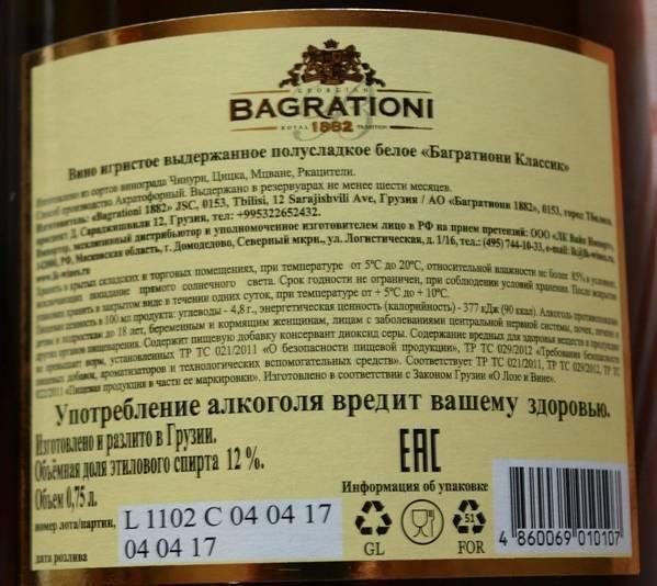 Срок годности шампанского и игристых вин