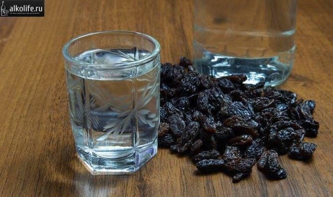 Самогон из изюма или еврейская водка - пейсаховка