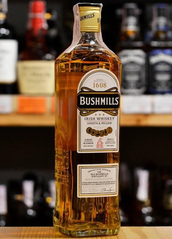 Виски бушмилс: описание ирландского bushmills original, irish whiskey и других видов алкоголя, как выбрать и пить правильно