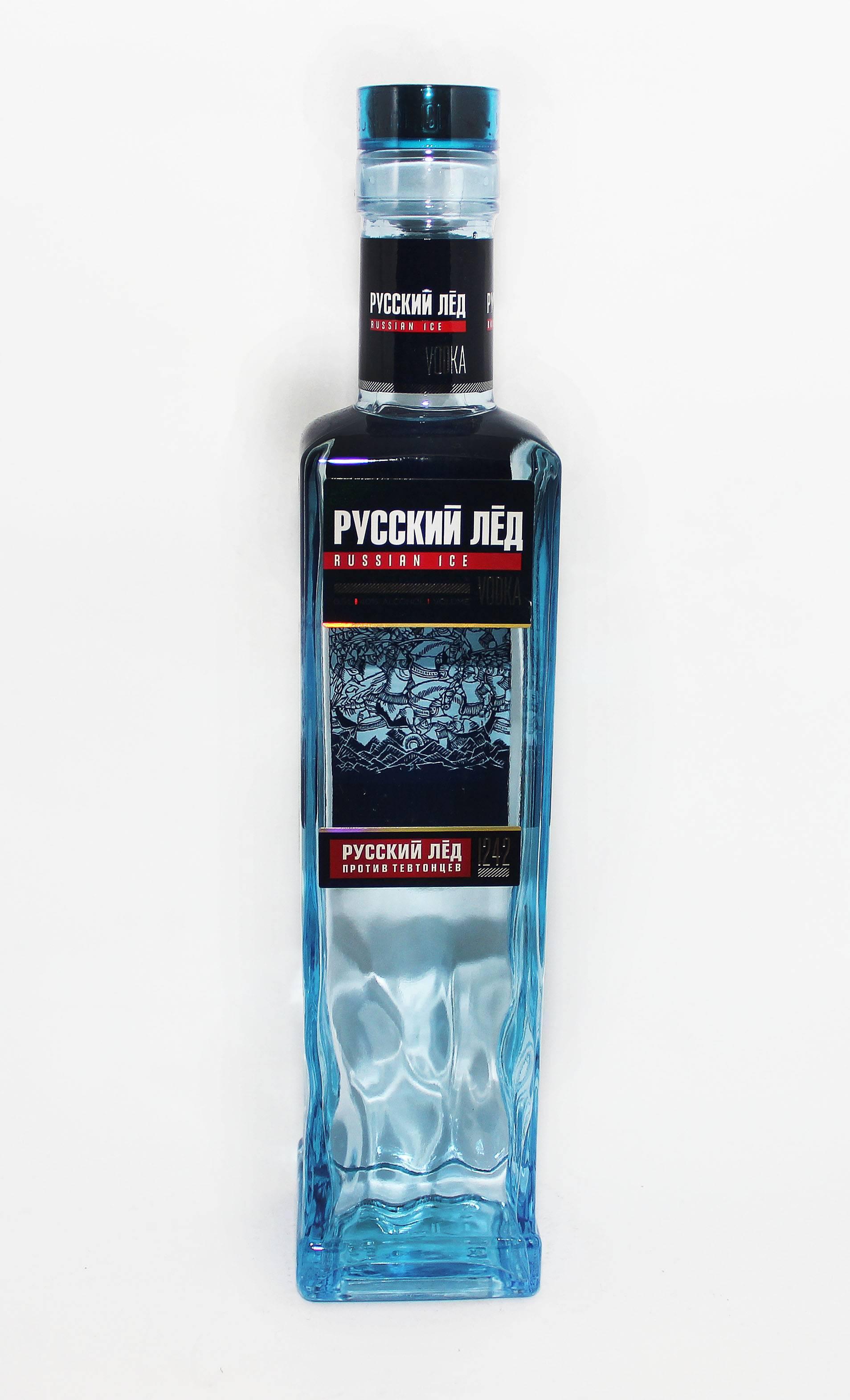 Водка «русский лед» - вековые традиции высокого качества