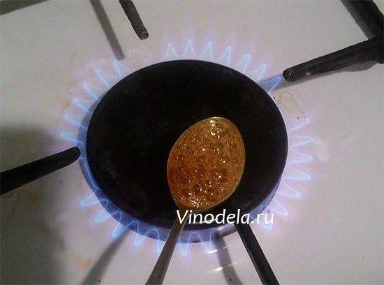 Как сделать жженый сахар для самогона в домашних условиях. как приготовить жженый сахар