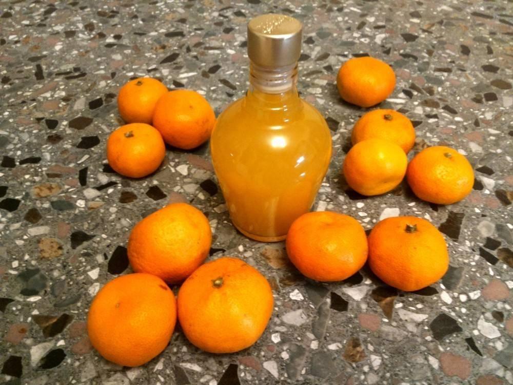 Ликер из мандаринов в домашних условиях — история алкоголя