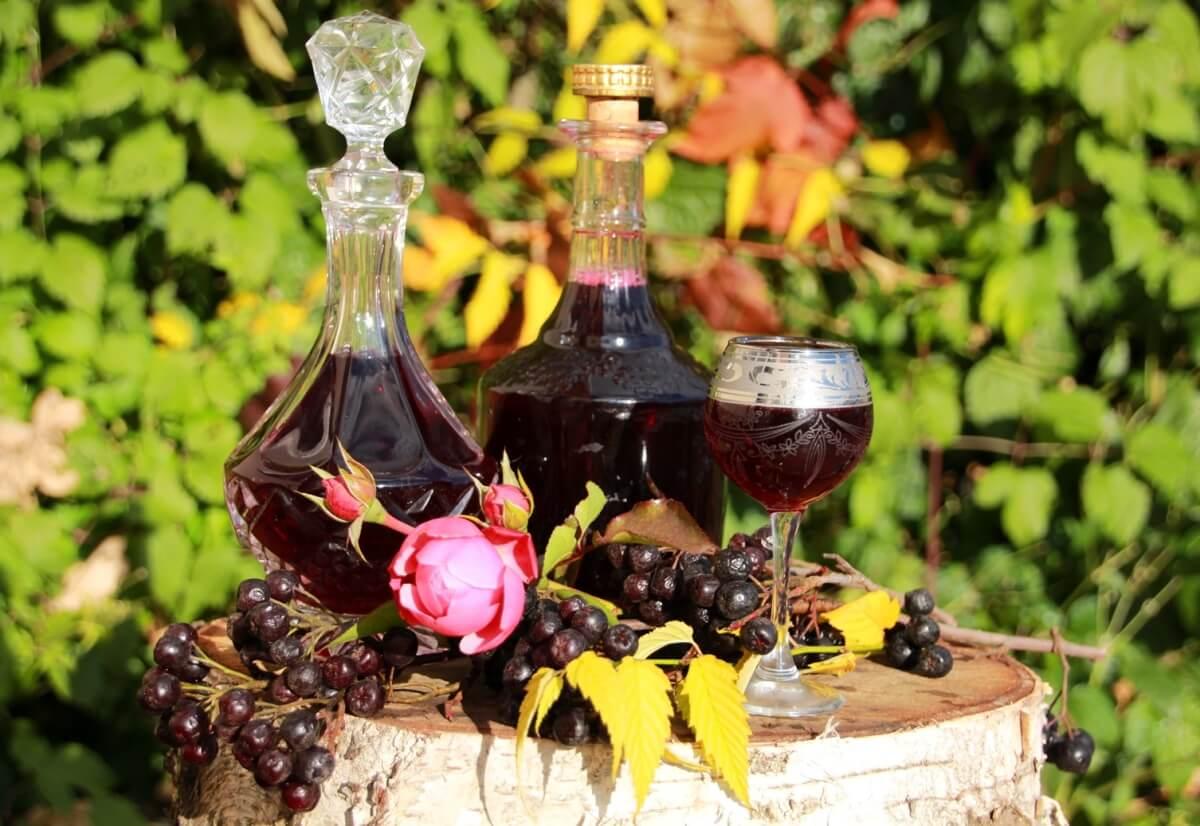 Самогон на черноплодной рябине: рецепт, приготовление напитка