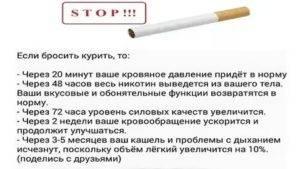 Восстановление организма после отказа от курения