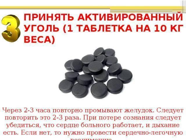 Активированный уголь при алкогольном опьянении