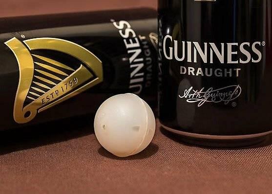 Пиво с азотной капсулой (гиннес): для чего добавляют со2, и зачем в банку помещают шарик с азотом | mosspravki.ru
