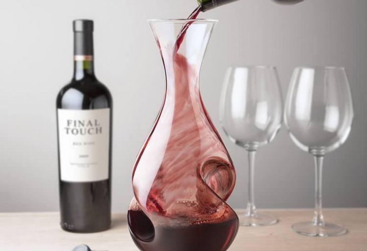 Декантер для вина - как выбрать, цена