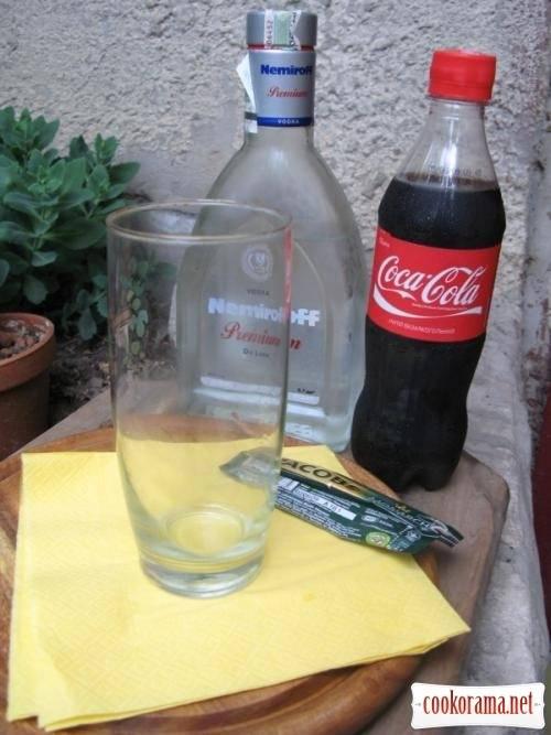 Водка с колой как коктейль рецепты домашнего алкоголя