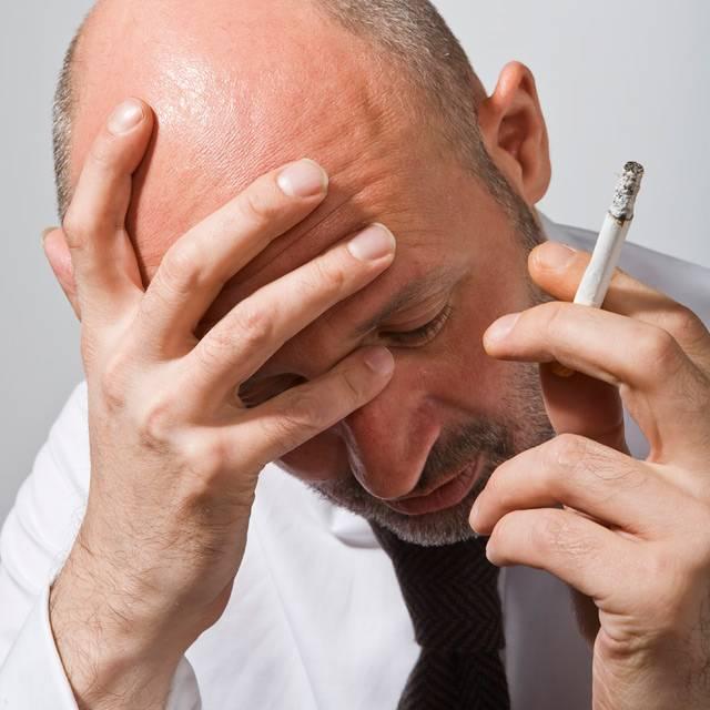 От электронной сигареты может болеть голова