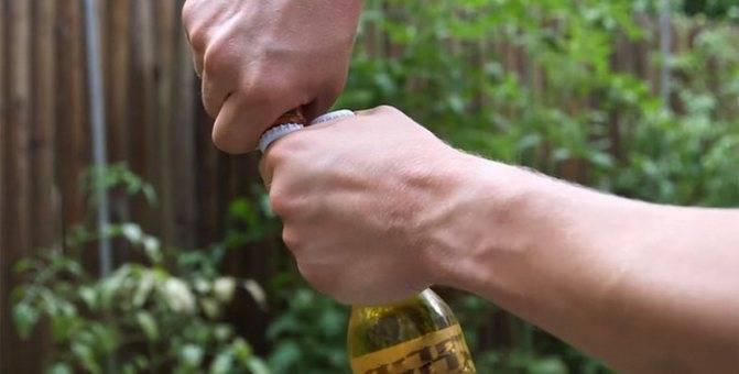 Как открыть пиво подручными средствами