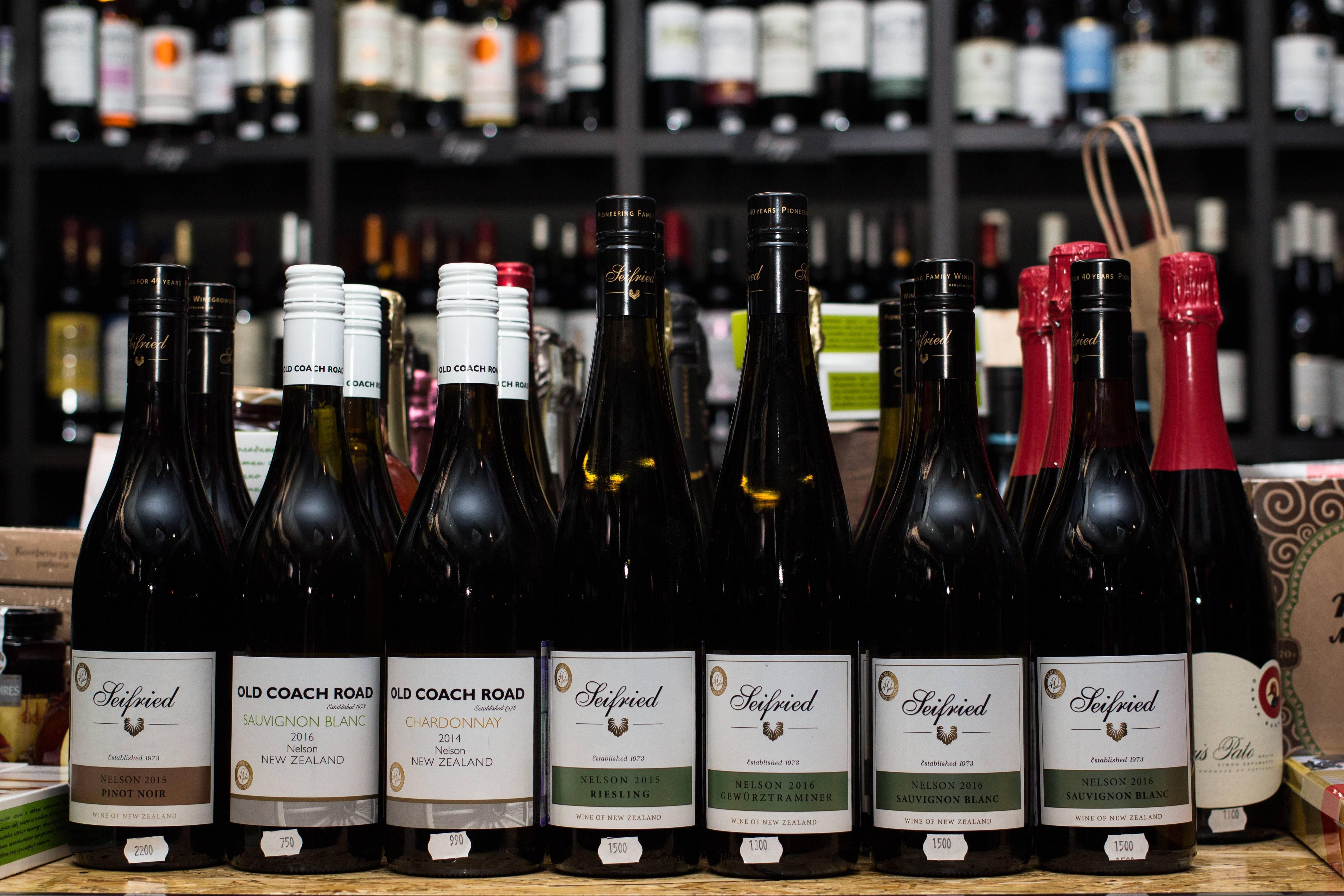 Новозеландские сорта винограда и винные стили