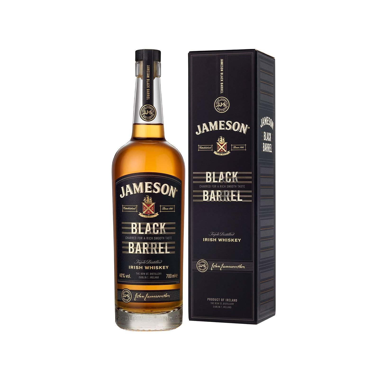Ирландский купажированный виски jameson select reserve black barrel: рейтинг, отзывы, дегустационные заметки