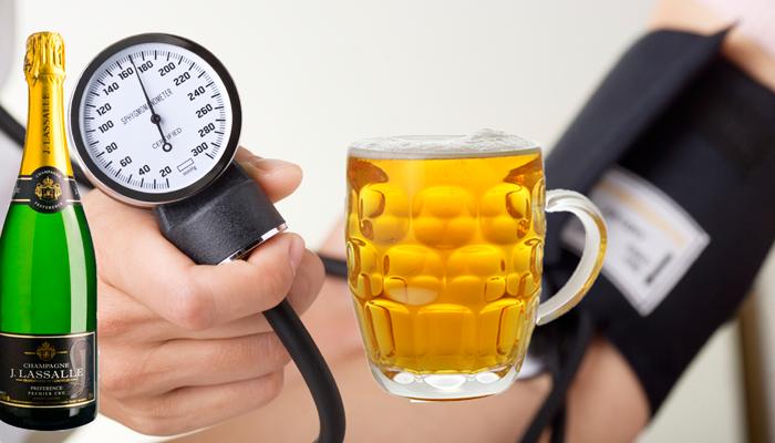 Какой алкоголь не повышает давление