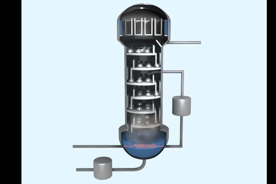 Отличие бражной колонны от самогонного аппарата и ректификационной колонны
