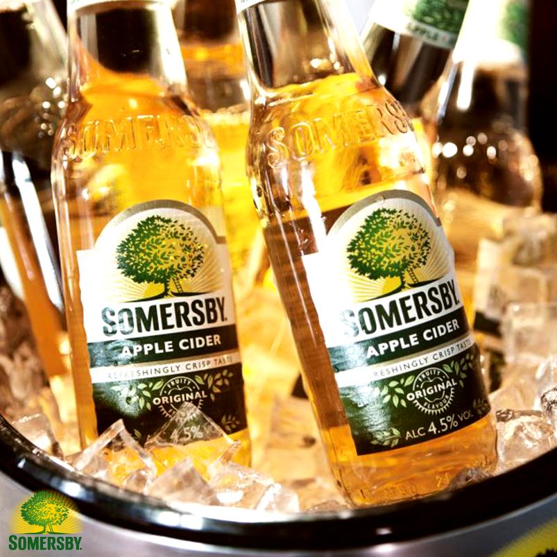Сидр somersby - освежающий напиток из натурального сока