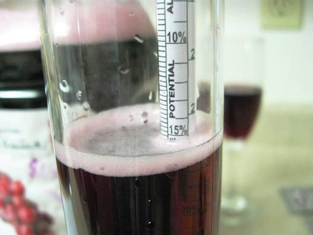 Закрепление вина водкой пропорции