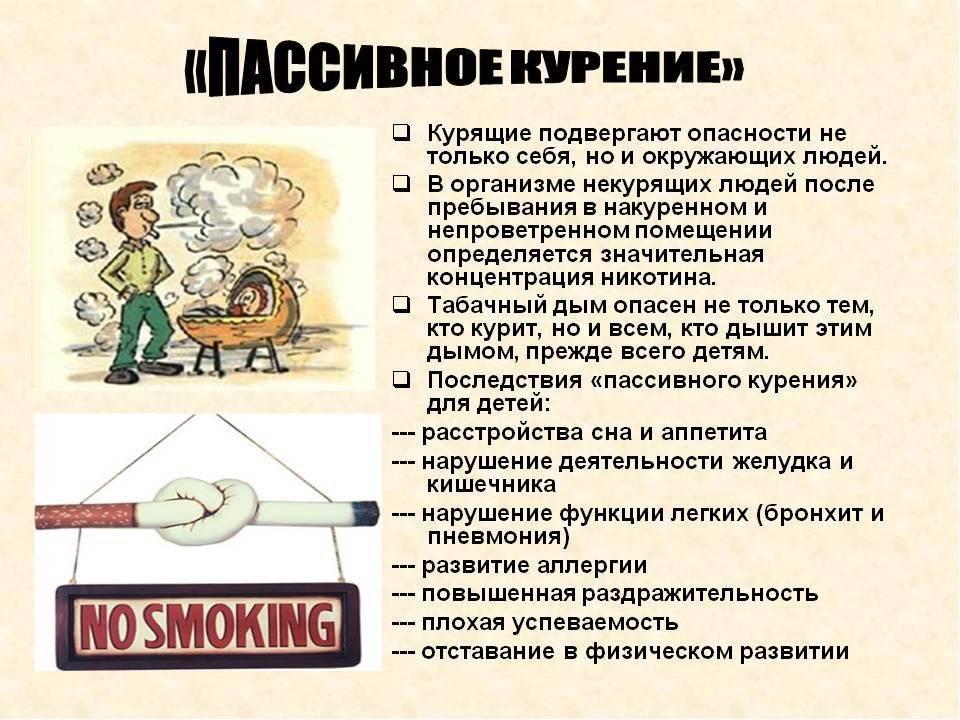Вред курения и его влияние на здоровье человека