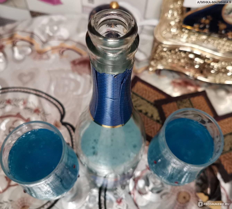 Голубое шампанское blue platino обзор, характеристики, цены