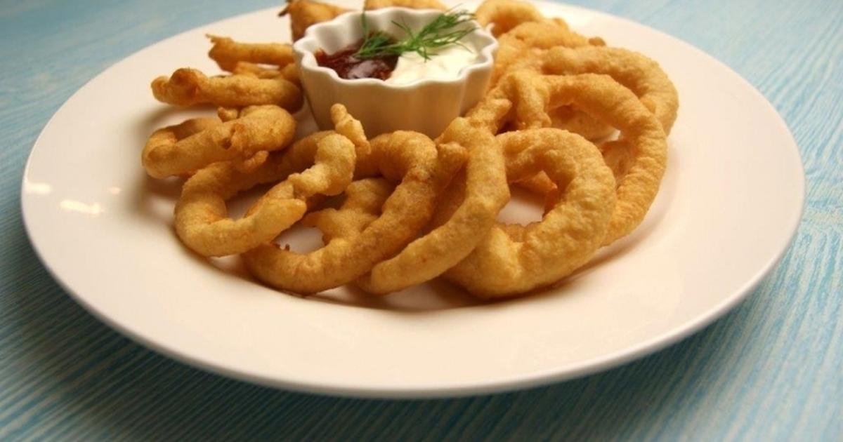 Луковые кольца в кляре - классический рецепт, особенности приготовления и отзывы