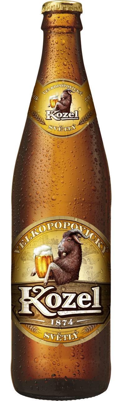 Velkopopovicky kozel svetly 0,5l (велкопоповицкий козел светлое 0,5л) купить по цене 69 руб. в москве, отзывы, wine-shopper