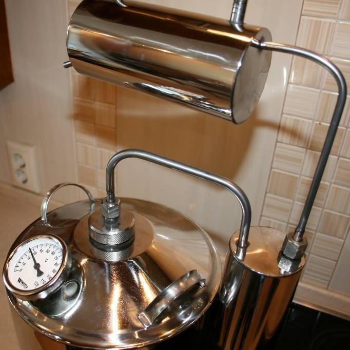 Как и из чего можно дома собрать самогонный аппарат?