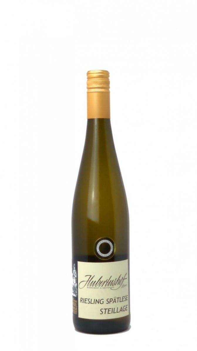 Вино рислинг белое сухое, характеристика вина