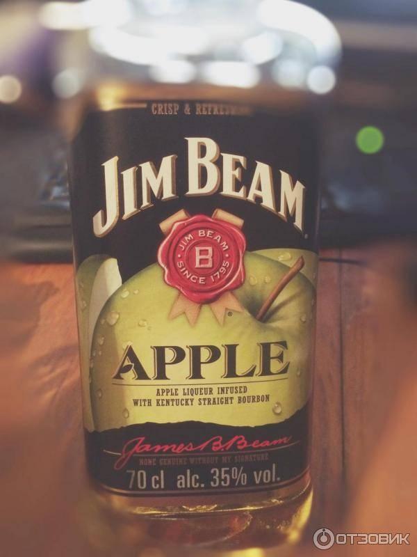 Виски jim beam apple