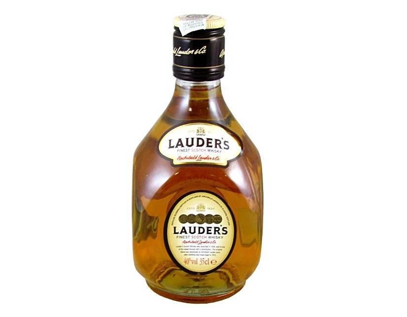 Виски lauders — настоящее шотландское качество.