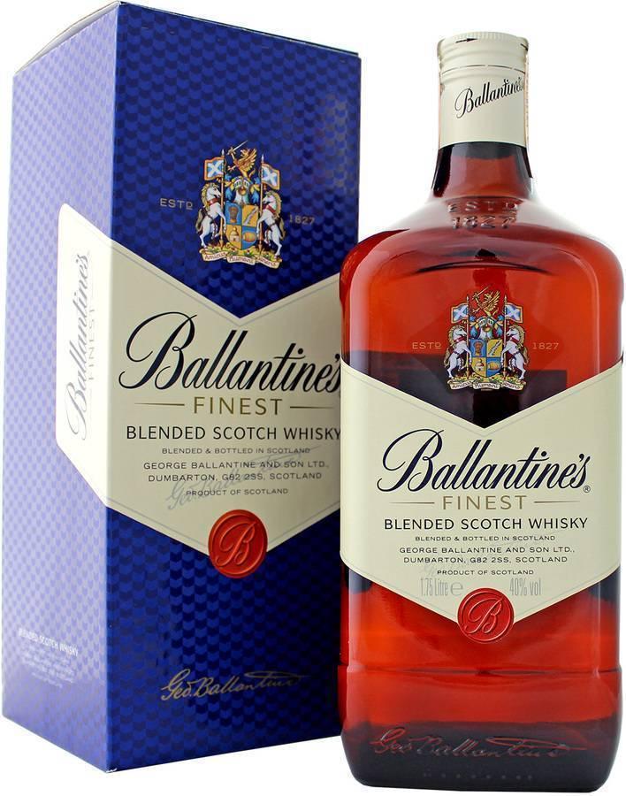 Шотландский виски ballantine's