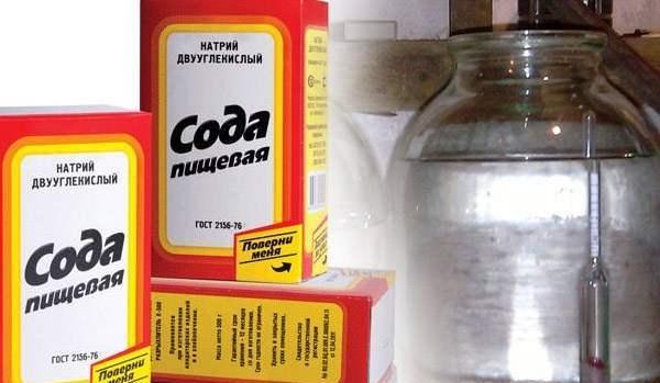 Очистка самогона содой: польза и вред, как очистить в домашних условиях перед вторым перегоном