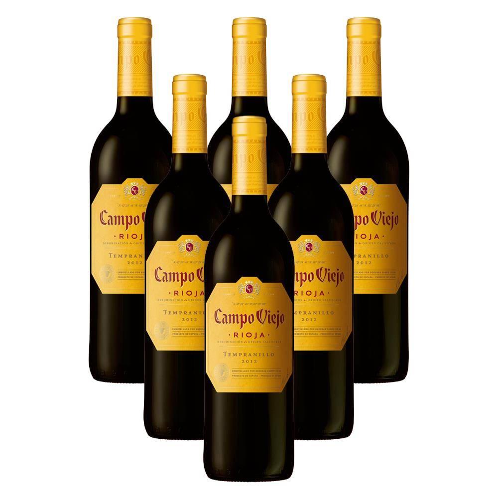 Кампо вьехо темпранильо — это испанское красное сухое вино