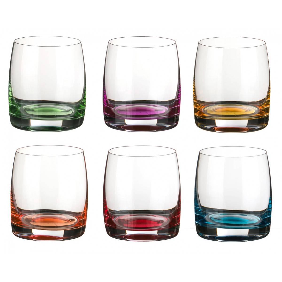 Разновидности хрустальных стаканов и бокалов