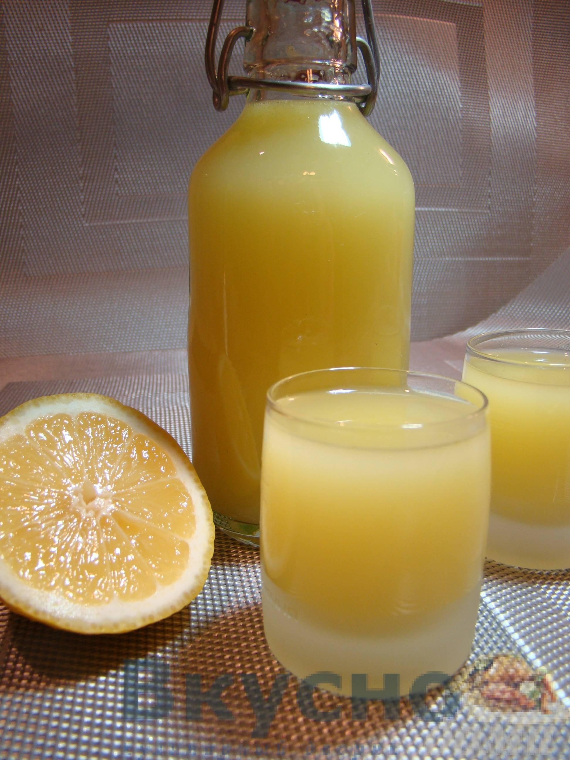 Лимончелло в домашних условиях - рецепт приготовления, видео